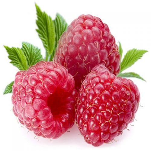 Straw Raspberries
